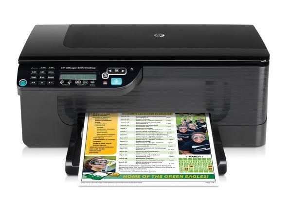 HP Officejet 4500 Desktop All-in-One G510a Ink Cartridges