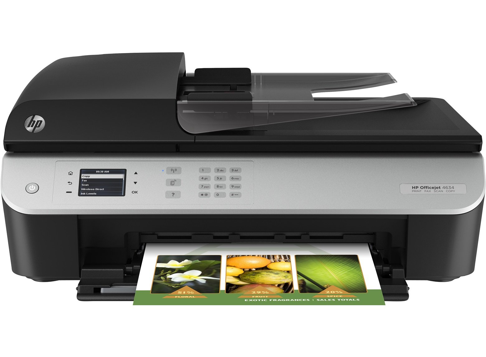 HP Officejet 4634 e-All-in-One Ink Cartridges