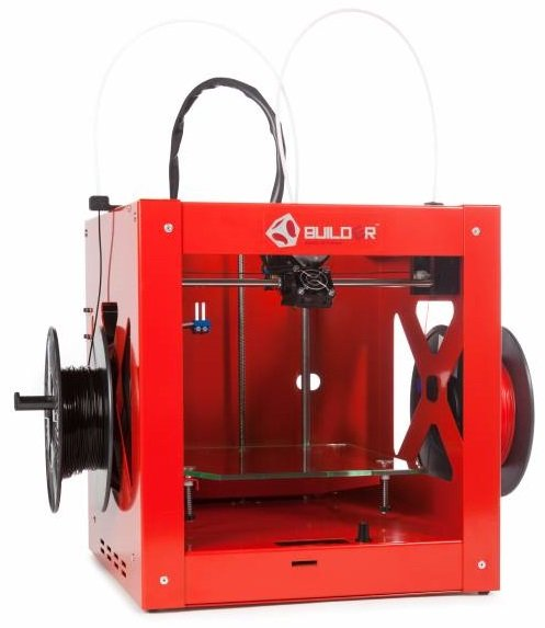 Builder Premium Dual-Feed Extruder 3D Printing