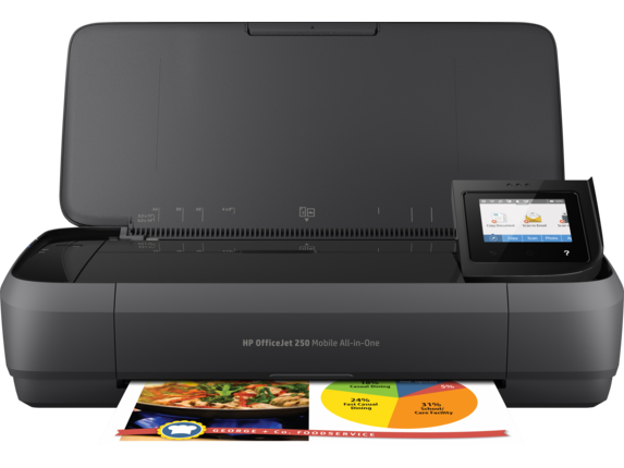 HP Officejet 250 Mobile All-in-One Ink Cartridges