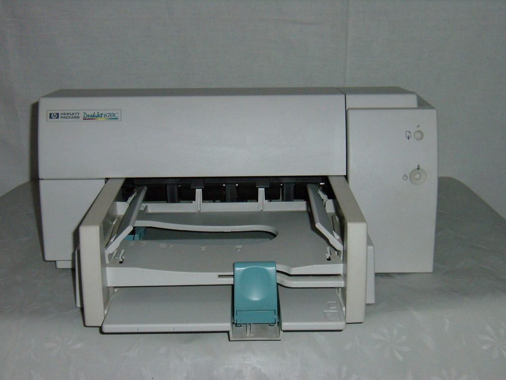 HP Deskjet 670c Ink Cartridges