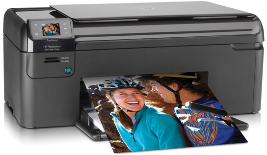 HP Photosmart B109d All-In-One Ink Cartridges