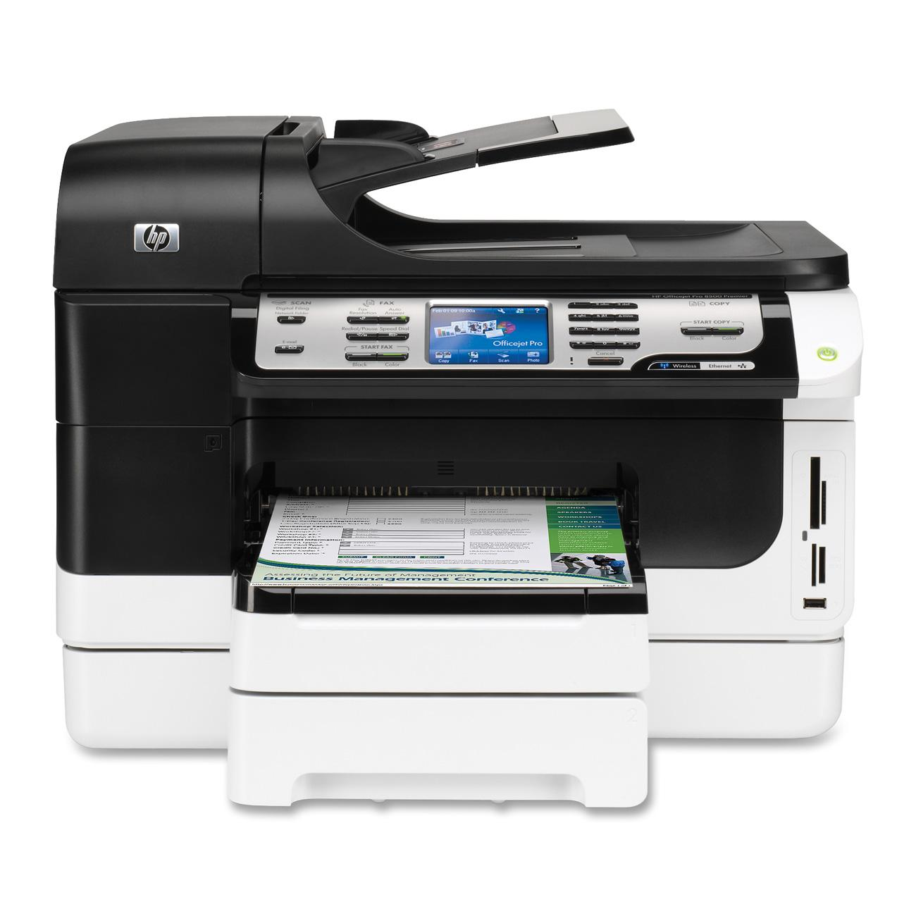 HP Officejet Pro 8500 A909n Ink Cartridges