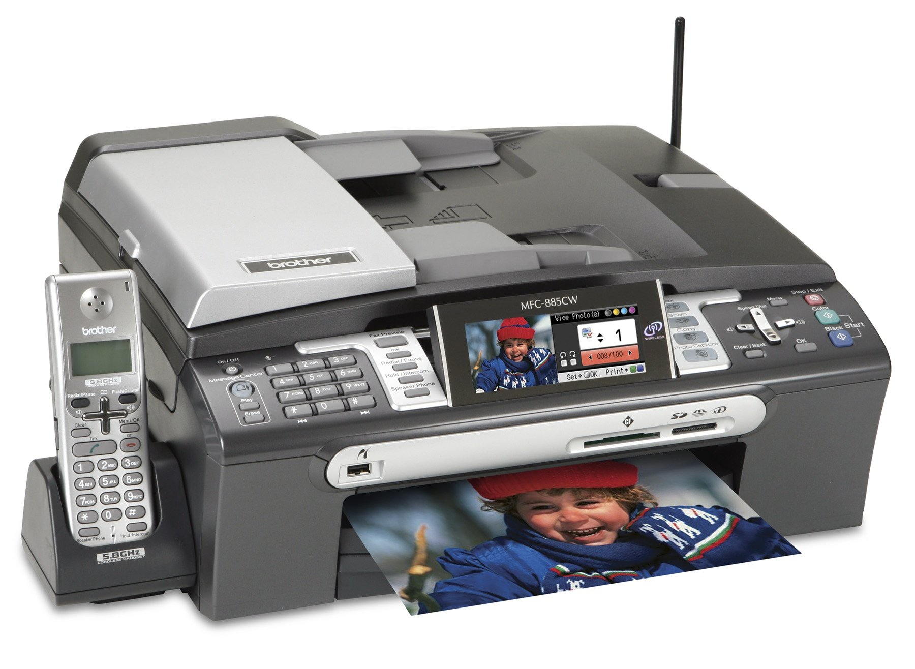 Brother MFC-885CW Ink Cartridges