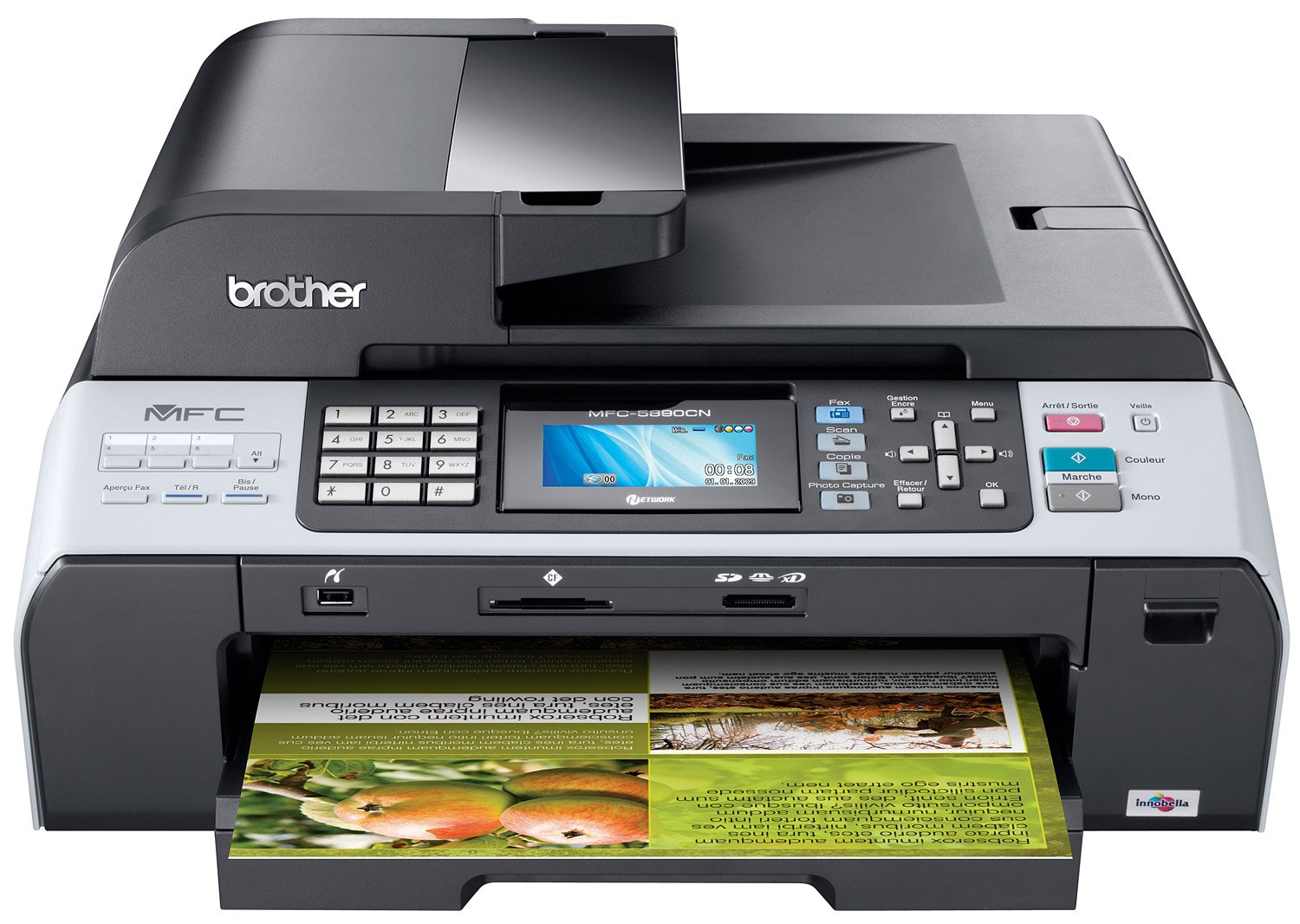 Brother MFC-5890CN Ink Cartridges