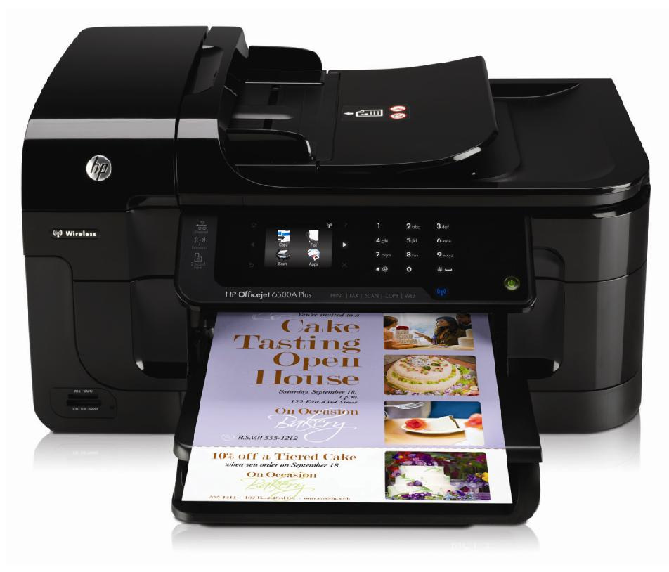 HP Officejet 6500A Plus e-All-in-One Ink Cartridges