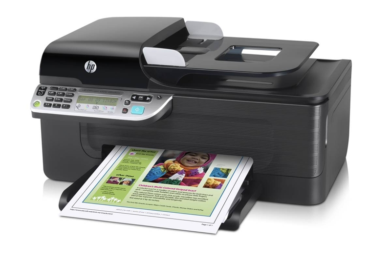 HP Officejet 4500 Wireless Ink Cartridges