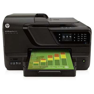 HP Officejet Pro 8600 e-All-in-One Ink Cartridges