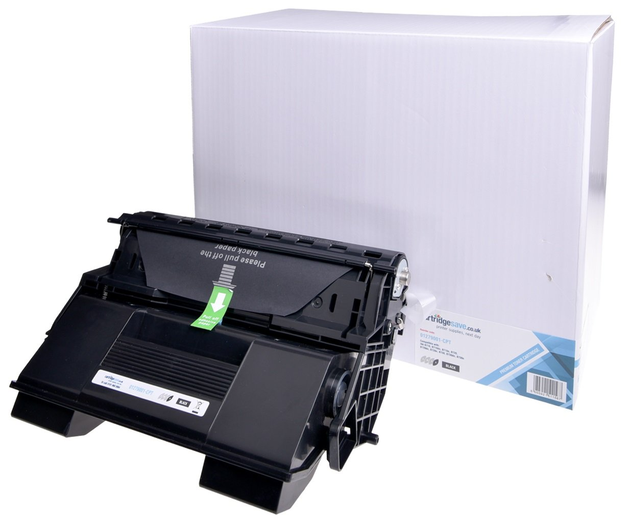 Compatible Black OKI 01279001 Toner Cartridge (1279001 Laser Printer Cartridge)