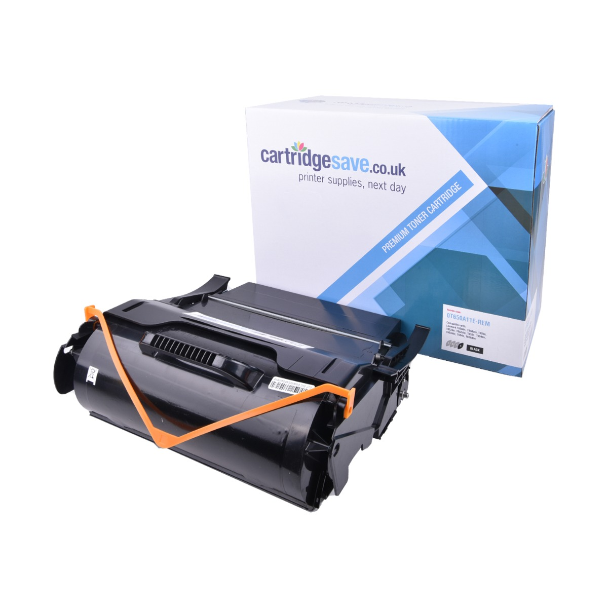 Compatible T650A11E Black Lexmark Toner Cartridge (Lexmark 0T650A11E Laser Printer Cartridge)