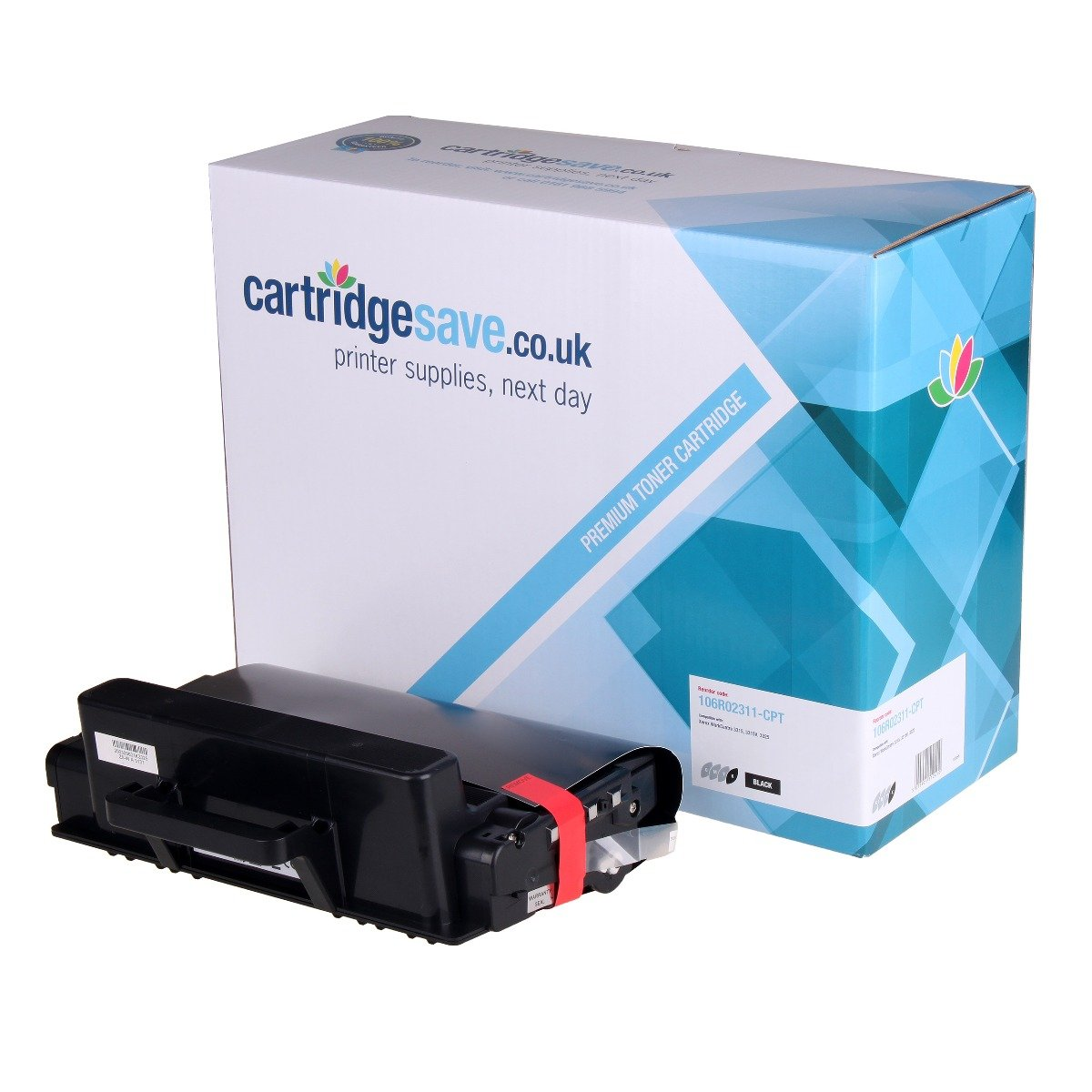 Compatible Black 106R02311 Xerox Toner Cartridge - (106R02311)
