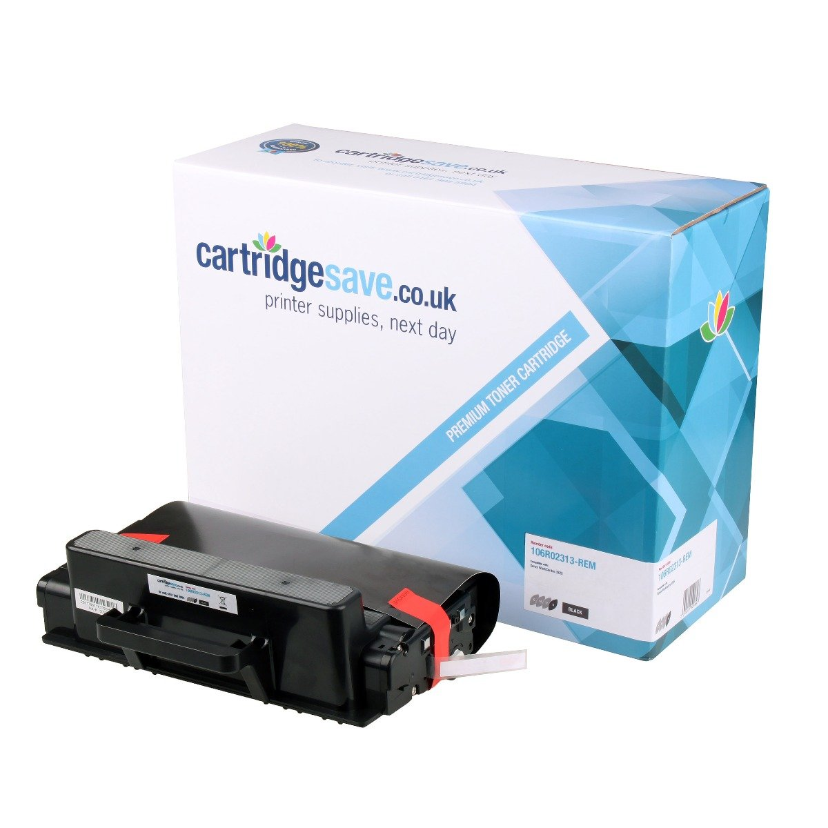 Compatible Black High Capacity Xerox 106R02313 Toner Cartridge - (106R02313)