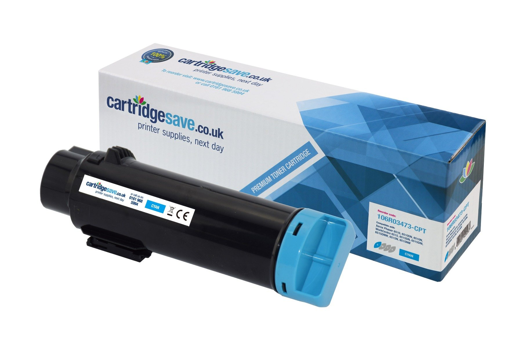 Compatible Cyan Xerox 106R03473 Toner Cartridge - (106R03473)