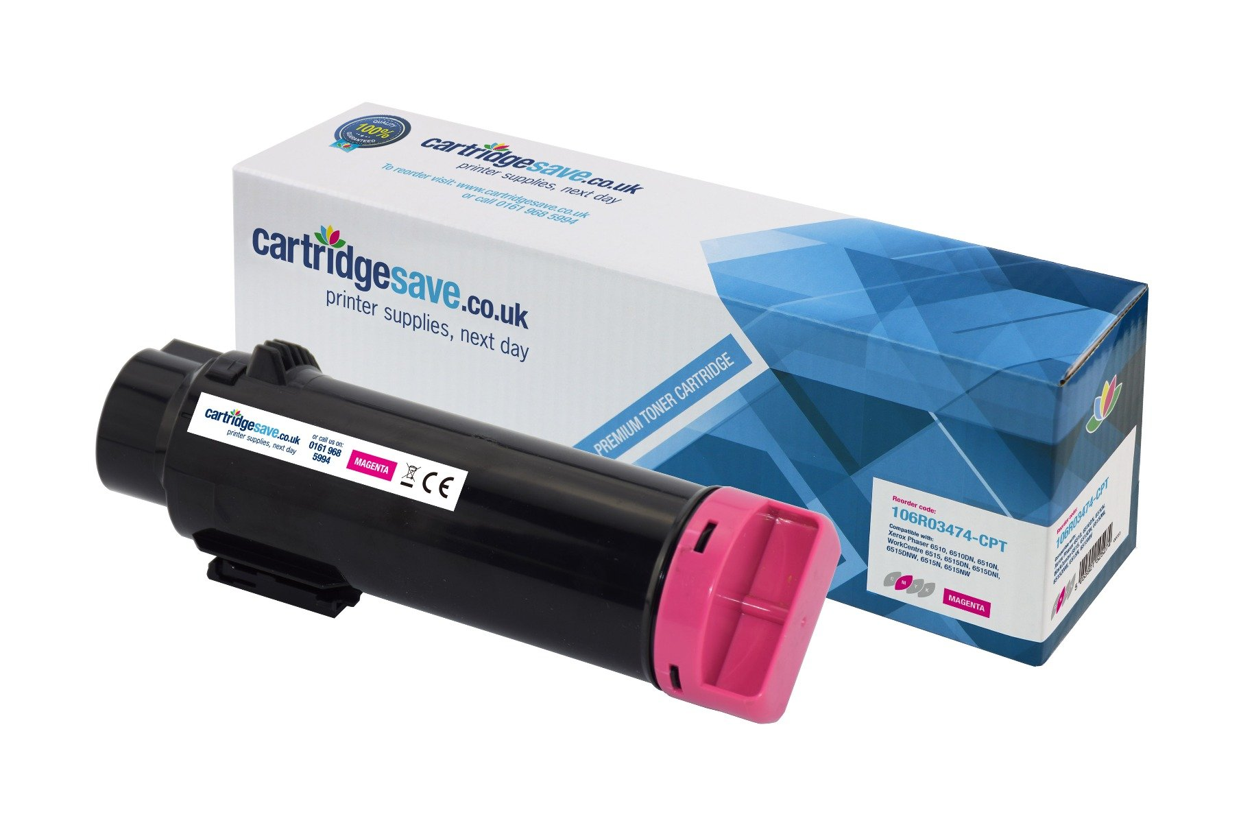 Compatible Magenta Xerox 106R03474 Toner Cartridge - (106R03474)