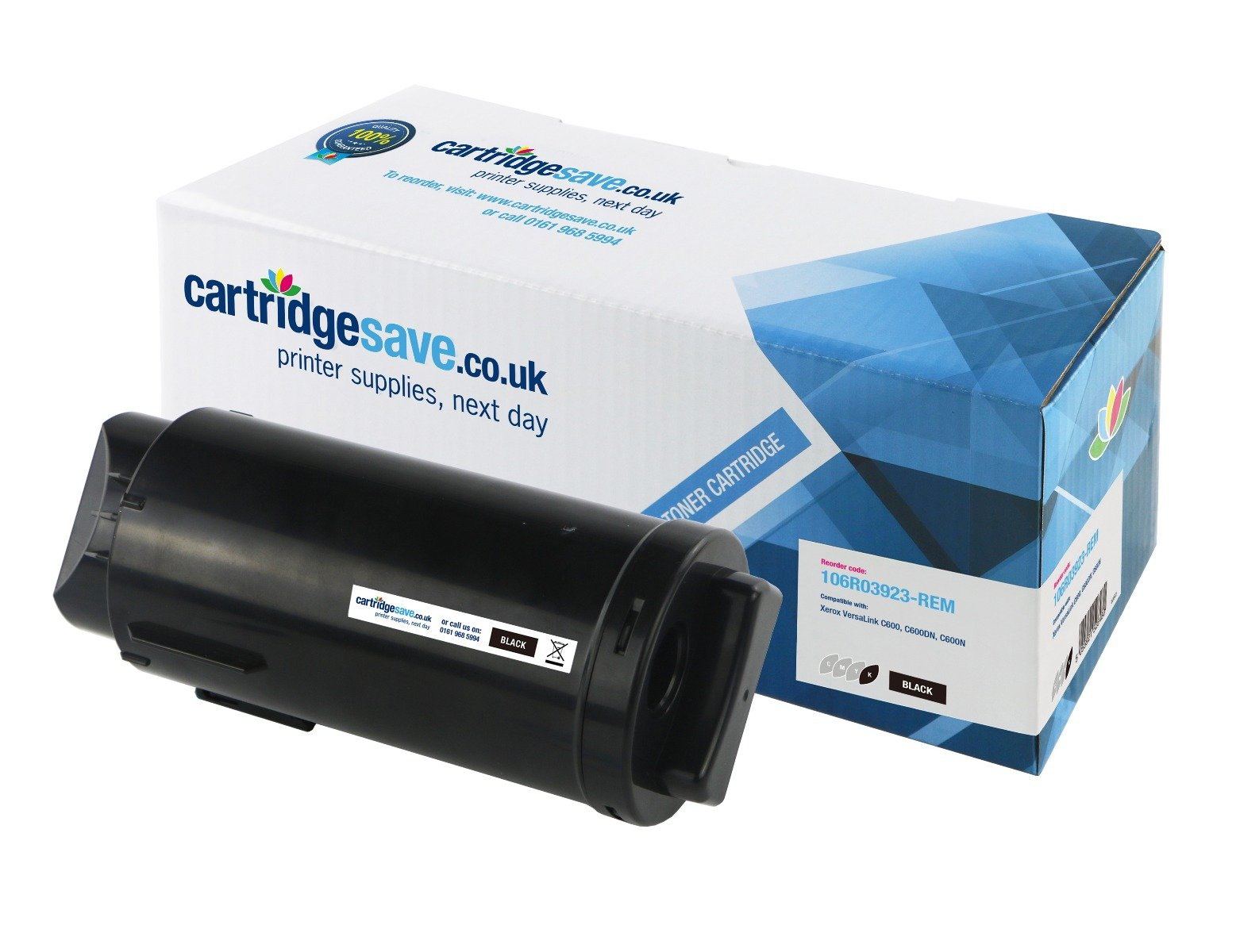 Compatible Extra High Capacity Black Xerox 106R03923 Toner Cartridge - (106R03923)