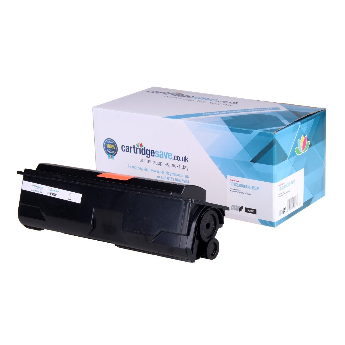 Compatible Black Kyocera TK-340 Toner Cartridge (Replaces Kyocera 1T02J00EU0 Laser Printer Cartridge)