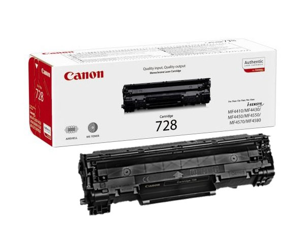 Genuine Black Canon 728 Toner Cartridge - (3500B002AA)