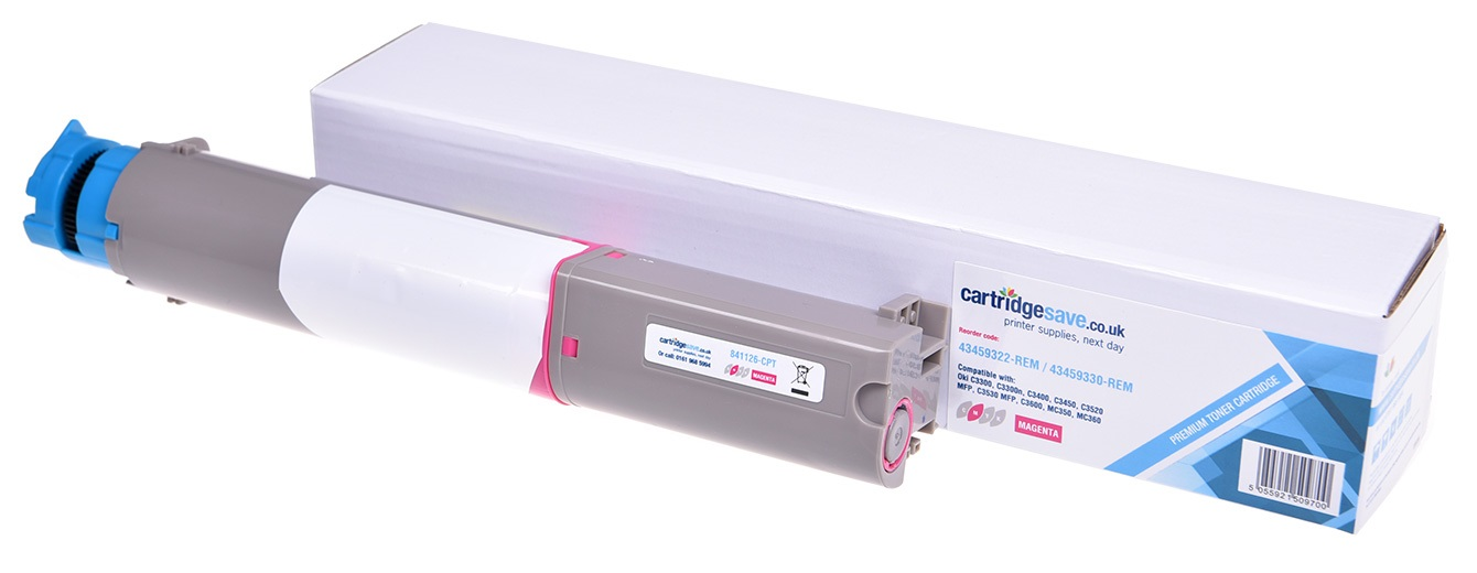 Compatible High Capacity Magenta Oki 43459330 Toner Cartridge - (43459330)