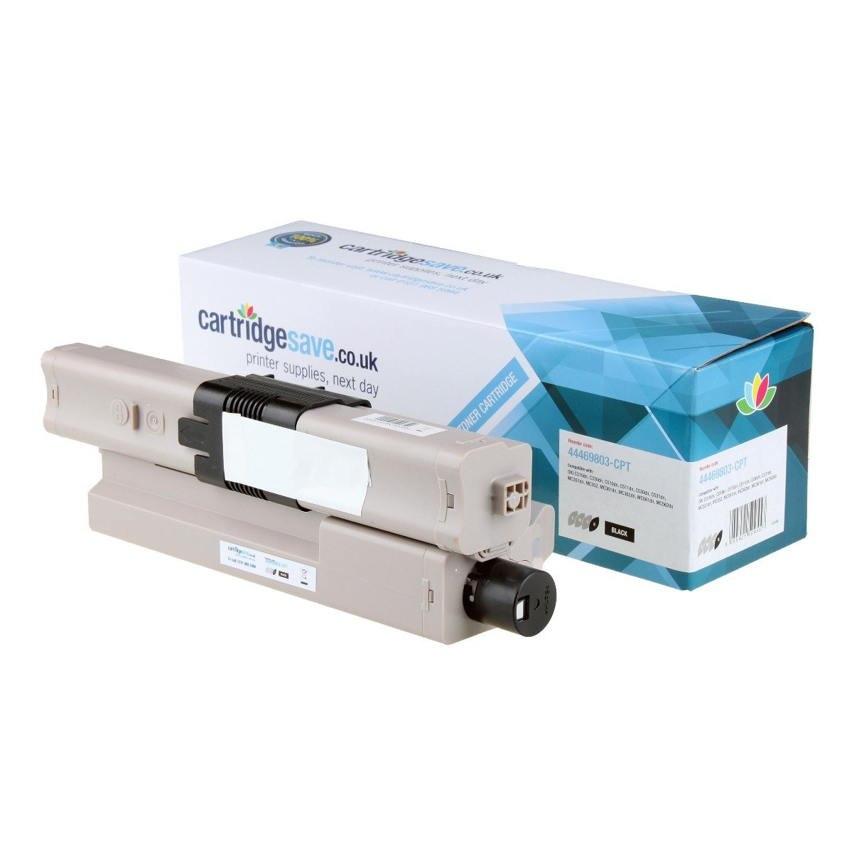 Compatible Black Oki 44469803 Toner Cartridge - (44469803)