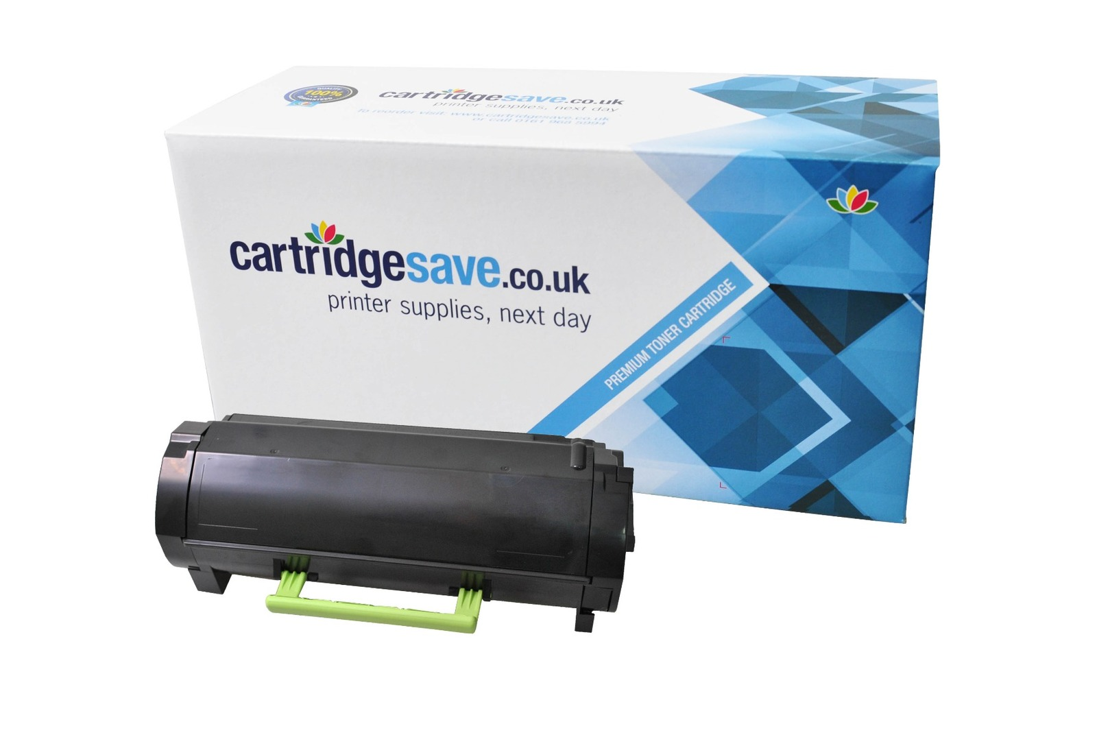 Compatible High Capacity Black Lexmark 512H Toner Cartridge - (Replaces Lexmark 51F2H00)