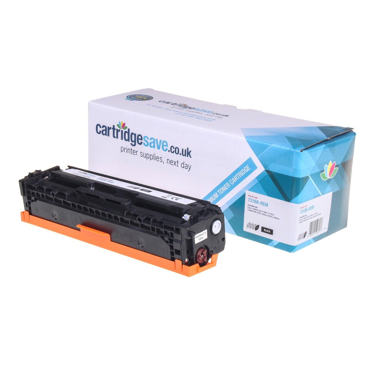Compatible Black Canon 731BK Toner Cartridge - (6272B002)