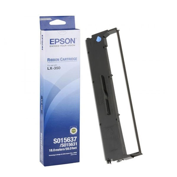 Genuine Black Epson S015637 SIDM Ribbon Cartridge (C13S015637)