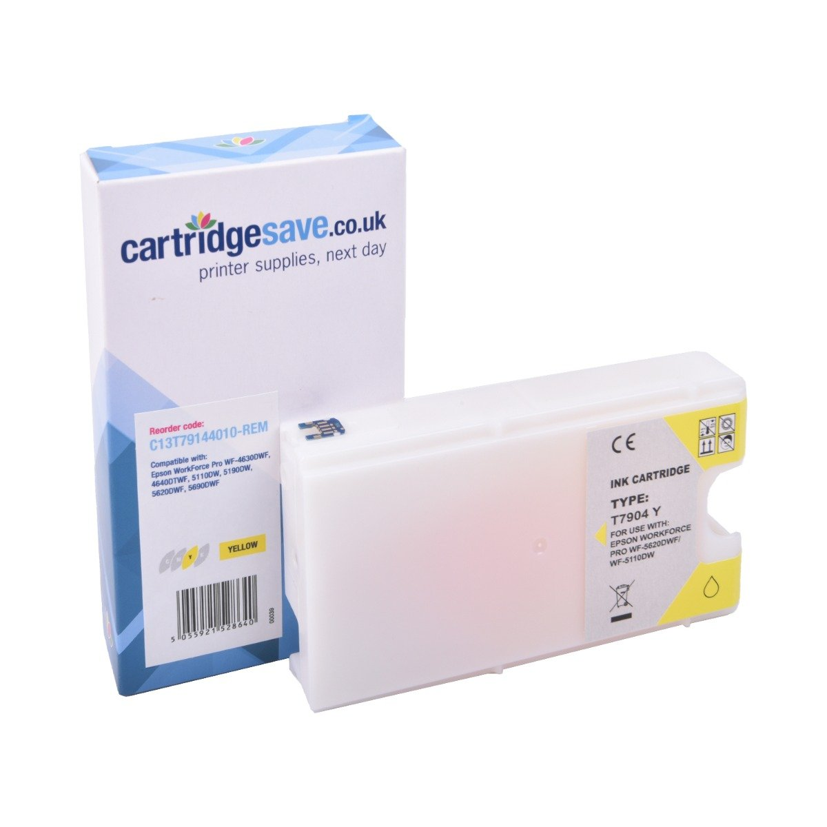 Compatible Yellow Epson 79 Ink Cartridge - (Replaces Epson C13T79144010)
