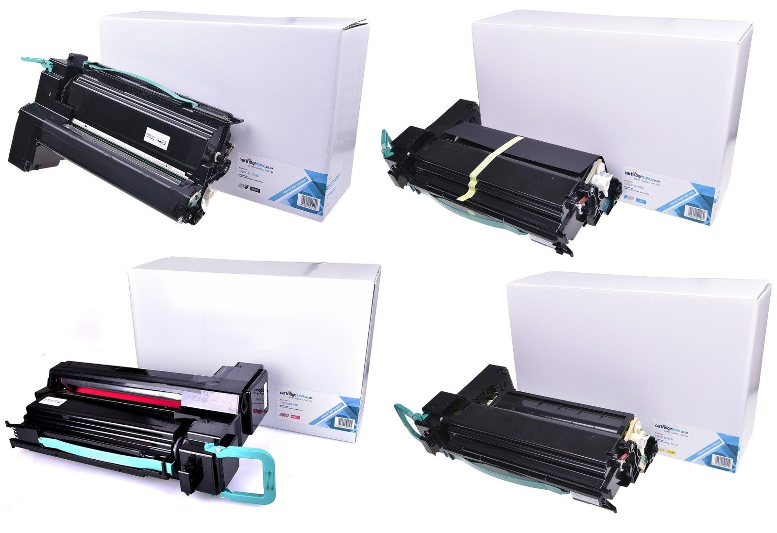 Compatible Extra High Capacity 4 Colour Lexmark C792X1 Toner Multipack - (Replaces C792X1KG/CG/MG/YG)