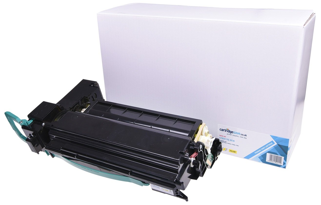 Compatible Extra High Capacity Yellow Lexmark C792X1YG Toner Cartridge - (Replaces C792X1YG)
