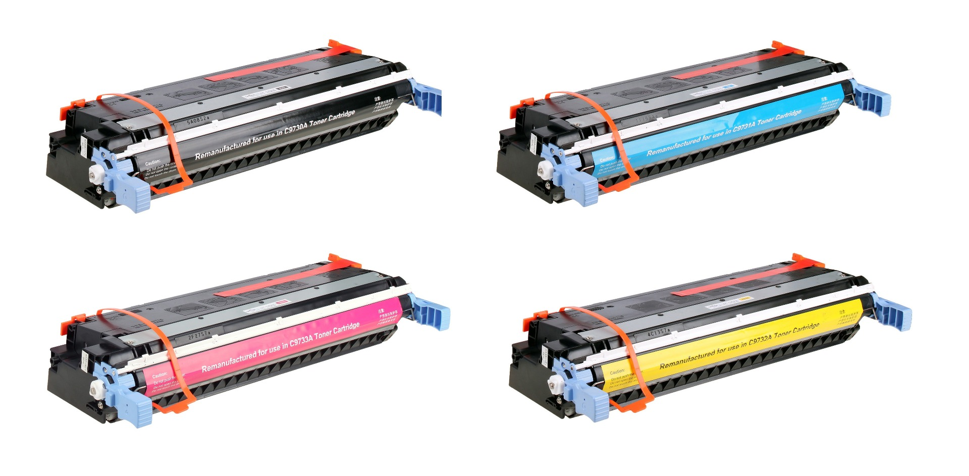 Compatible 4 Colour HP 645A Toner Cartridge Multipack - (C9730A/C9731A/C9732A/C9733A)