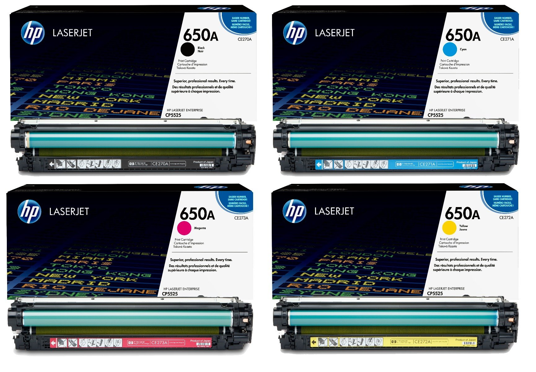CP5525N CP5525XH Yellow CP5525DN Works with: Color Laserjet Enterprise CP5525 On-Site Laser Compatible Toner Replacement for HP CE272A