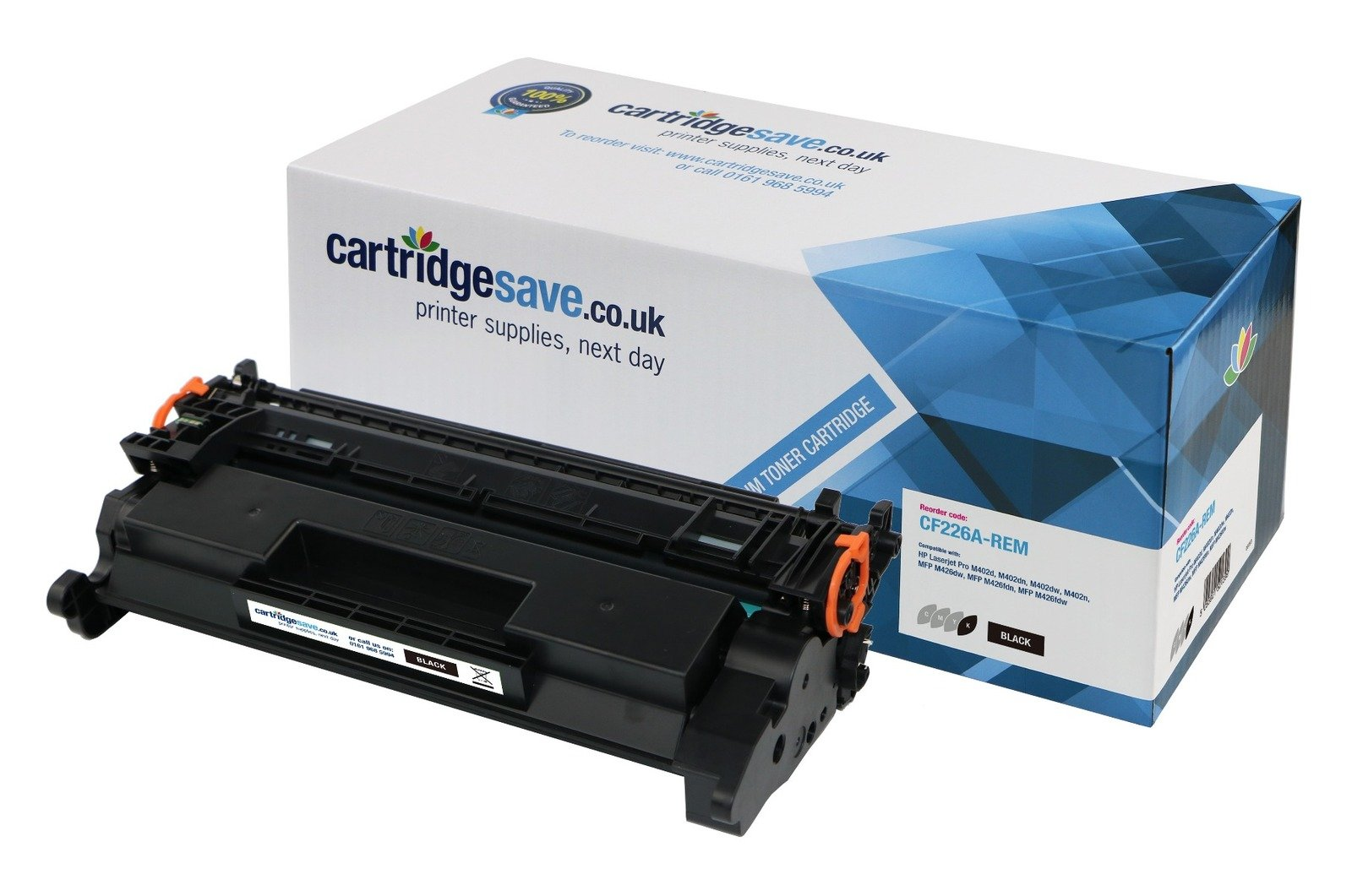 Compatible Black HP 26A Toner Cartridge - (CF226A)