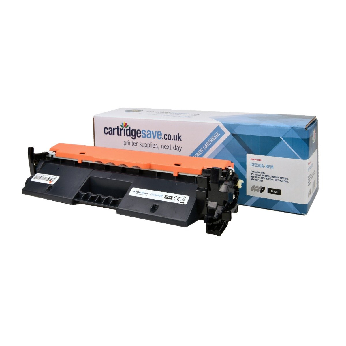 Compatible Black HP 30A Toner Cartridge - (CF230A)