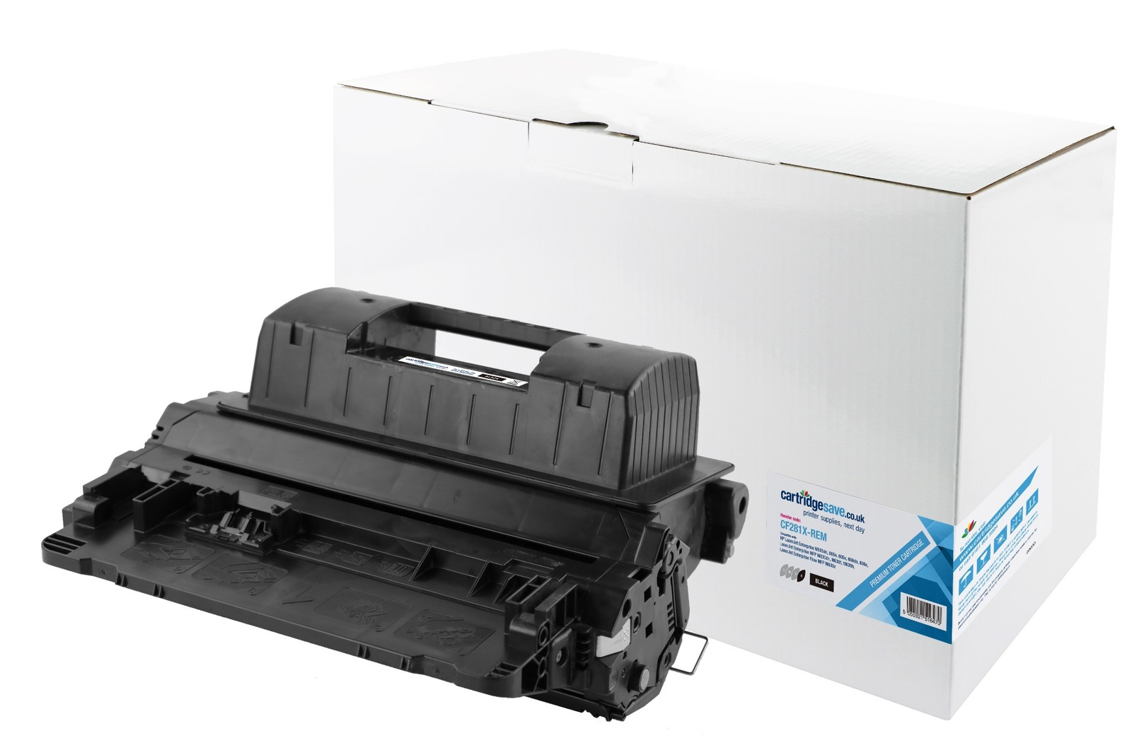 Compatible High Capacity Black HP 81X Laser Toner - (HP CF281X)