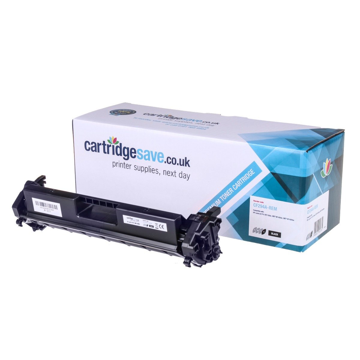 Compatible Black HP 94A Toner Cartridge - (CF294A)