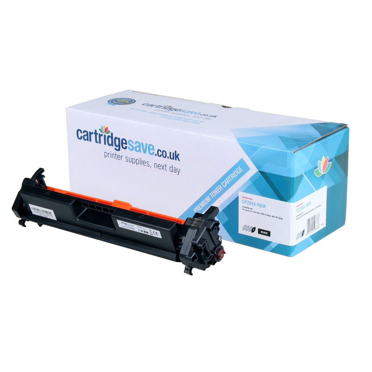 Compatible High Capacity Black HP 94X Toner Cartridge - (CF294X)