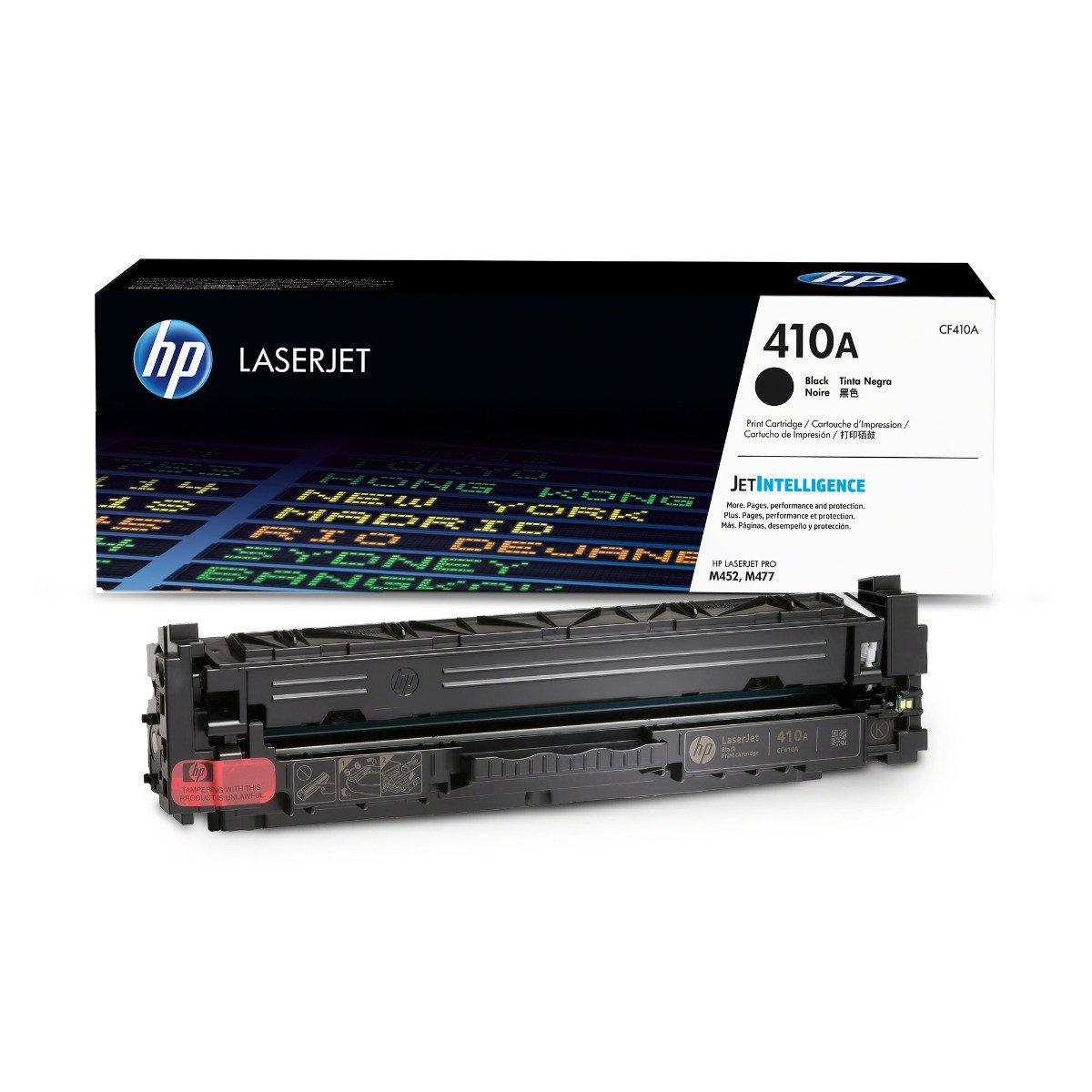 Genuine Black HP 410A Toner Cartridge - (CF410A)
