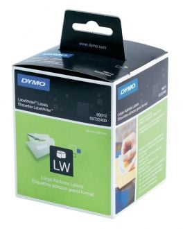 Genuine Dymo 99012 Large Address Labels Twin Pack 2 x 260 Labels 89mm x  36mm (S0722400)