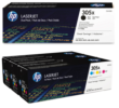 Genuine 5 Colour HP 305X / HP 305A Toner Cartridge Multipack - (CE410XD & CF370AM)