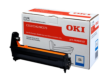 Genuine Oki 46484107 Cyan Image Drum (46484107 Laser Printer Imaging Unit)