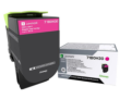 Genuine High Capacity Magenta Lexmark 71B0H30 Toner Cartridge (71B0H30 Laser Printer Toner)