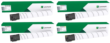 Genuine 4 Colour Lexmark 76C00 Toner Cartridge Multipack (76C00K0/C0/M0/Y0)