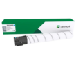 Genuine High Capacity Lexmark 76C0HC0 Cyan Toner Cartridge (Lexmark 76C0HC0 High Yield Cyan Laser Toner)