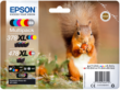 Genuine 6 Colour Epson 378XL / 478XL High Capacity Ink Cartridge Multipack - (T379D Squirrel Inkjet Printer Cartridges)