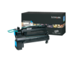 Genuine Extra High Capacity Cyan Lexmark C792X2CG Toner Cartridge - (C792X2CG)