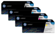 Genuine 4 Colour HP 824A / HP 825A Toner Cartridge Multipack - (CB390A/CB381A/CB383A/CB382A)