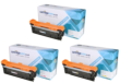 Compatible 3 Colour HP 504A Toner Cartridge Multipack - (Replaces HP CE251A/2A/3A)