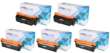 Compatible 5 Colour HP 504A Toner Cartridge Multipack - (Replaces HP 2 x CE250X/1A/2A/3A)