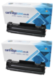 Compatible Black HP 83A Toner Cartridge Twin Pack - (CF283AD)