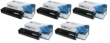Compatible High Capacity  Colour HP 201X Toner Cartridge Multipack - (2x CF400X/CF401X/CF402X/CF403X)